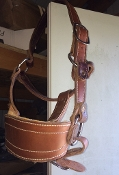Leather Bronc Halter